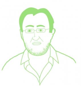 drawing of doctor eduardo simon sanz